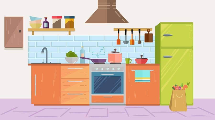 Пример кухни