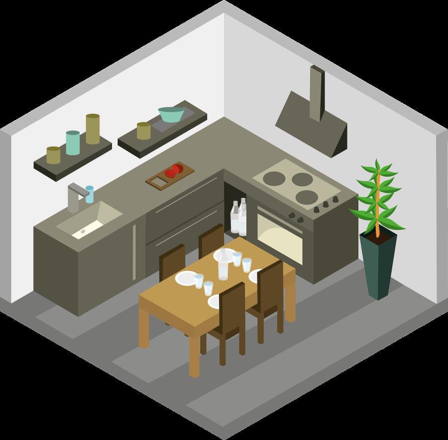 Помещение для кухни