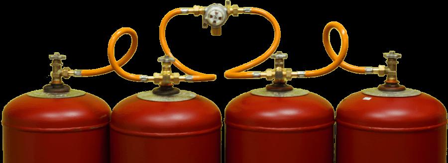 Баллоны с сжиженным газом
