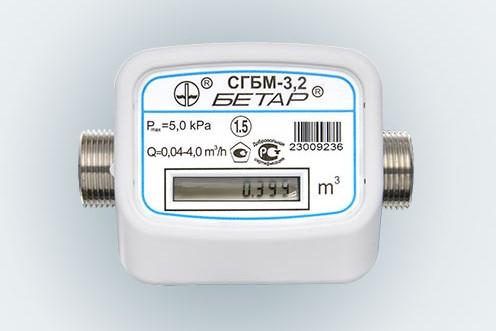 Газовый счетчик Бетар CГБМ-3.2