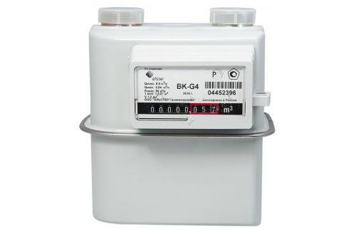 Газовый счетчик Elster BK-G4 левый