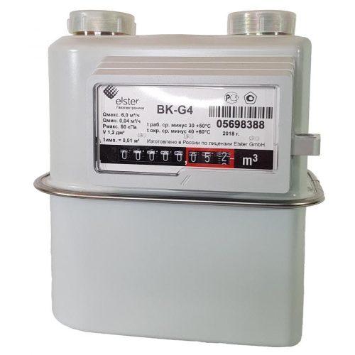 Газовый счетчик Elster BK-G4 правый