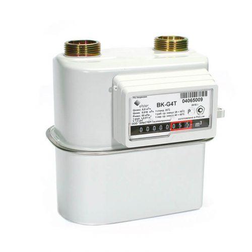 Газовый счетчик Elster BK-G4T левый