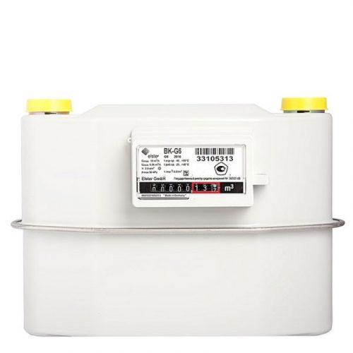 Газовый счетчик Elster BK-G6 левый