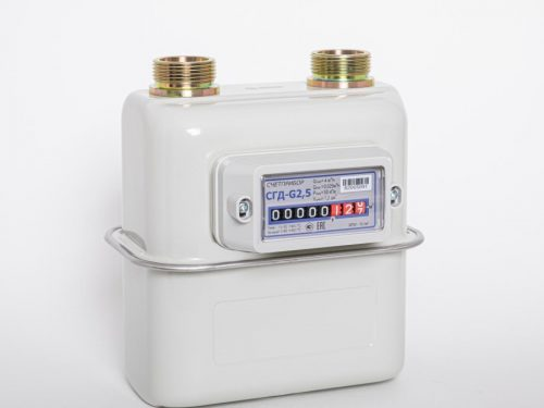 Газовый счетчик Счетприбор СГД-G2,5 левый