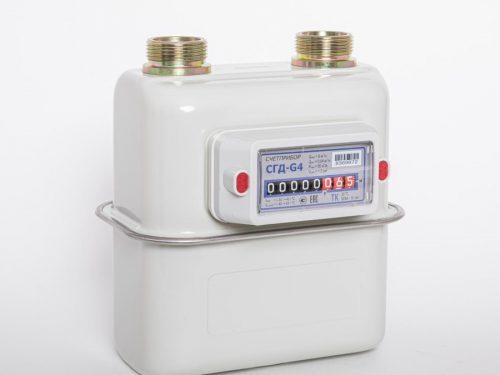 Газовый счетчик Счетприбор СГД-G4 левый