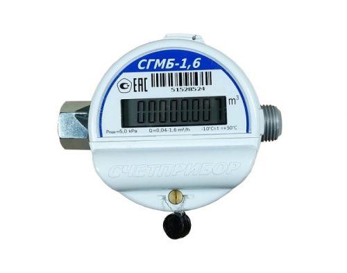 Газовый счетчик Счетприбор СГМБ G-1.6