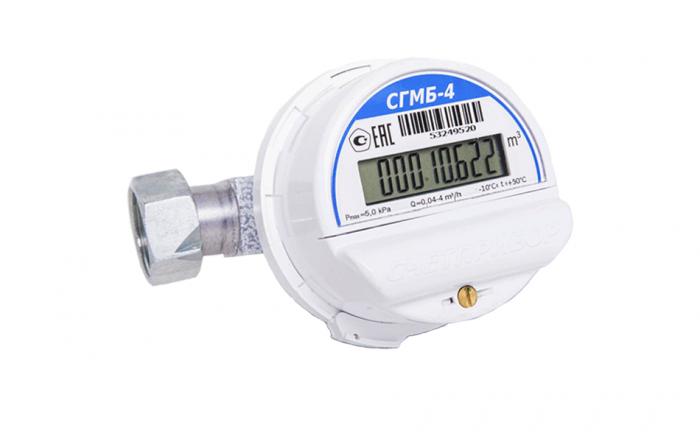 Газовый счетчик Счетприбор СГМБ-4.0
