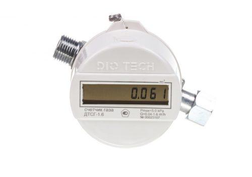 Газовый счетчик DIO TECH ДТСГ-1.6
