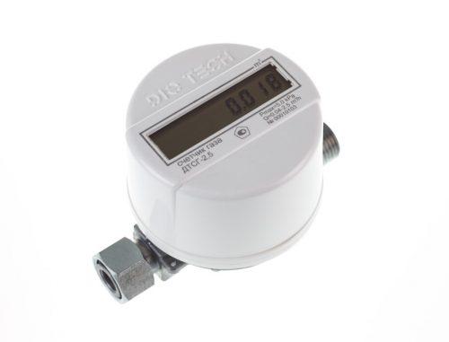 Газовый счетчик DIO TECH ДТСГ-2.5