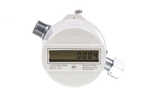 Газовый счетчик DIO TECH ДТСГ-3.2