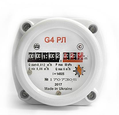 Газовый счетчик Омега G-4 РЛ