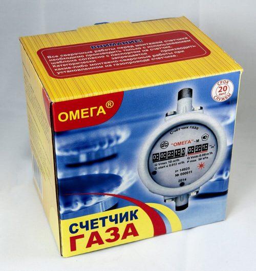 Газовый счетчик Омега-М