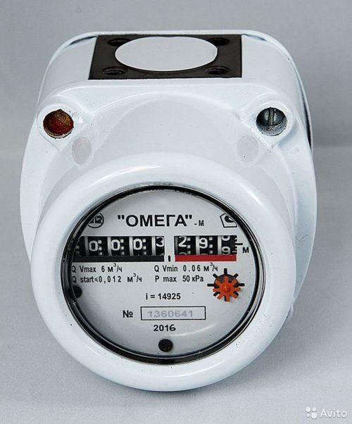 Газовый счетчик Омега-М G-2,5