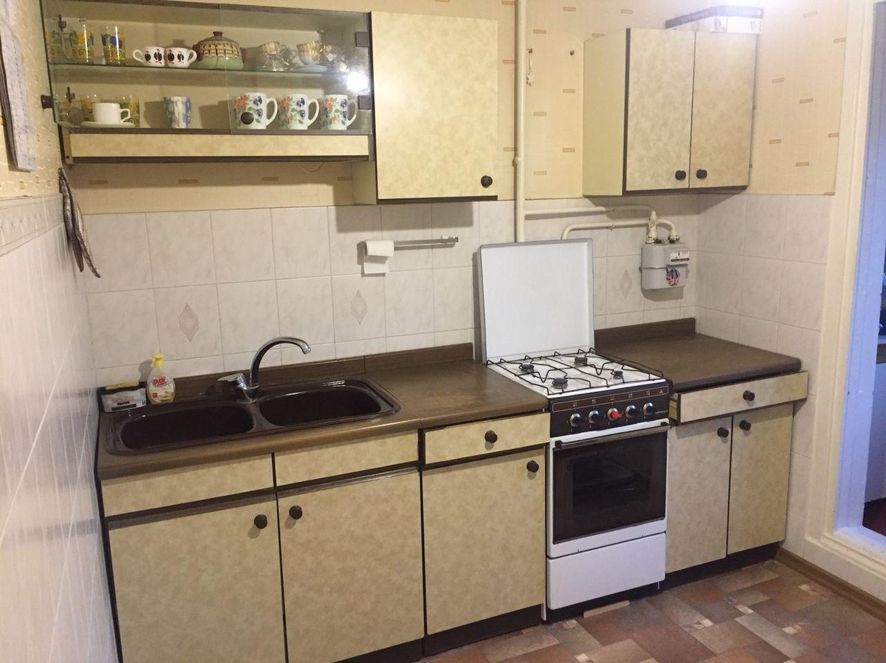 Пример установки правого газового счетчика в квартире